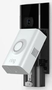 Ring Video Doorbell II showing detachable battery